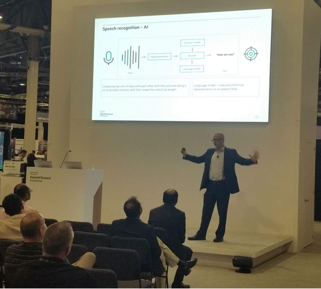 HPE Discover 2018 - Making Artificial Intelligence (AI) real